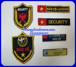 Logo thêu bảo vệ