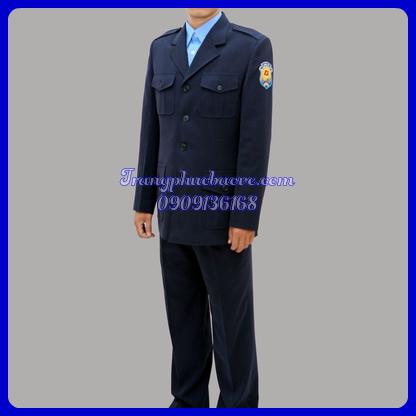 đồng phục bảo vệ mùa đông cơ quan