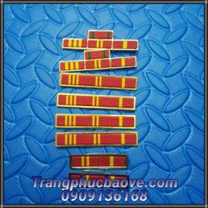 Phên đeo cuống huân chương Vì an ninh tổ quốc